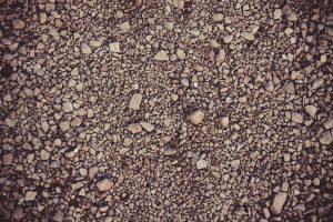 Gesteentemeel is tot poeder vermalen gesteente