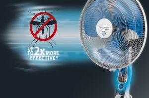 Ventilatoren zijn zeer effectief tegen muggen, doe er je voordeel mee!