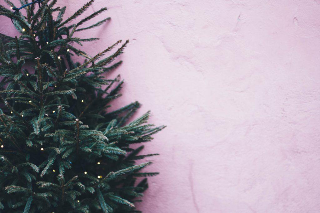 vlooien kerstboom