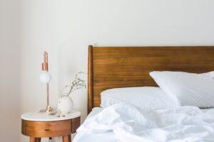 Foto van een slaapkamer