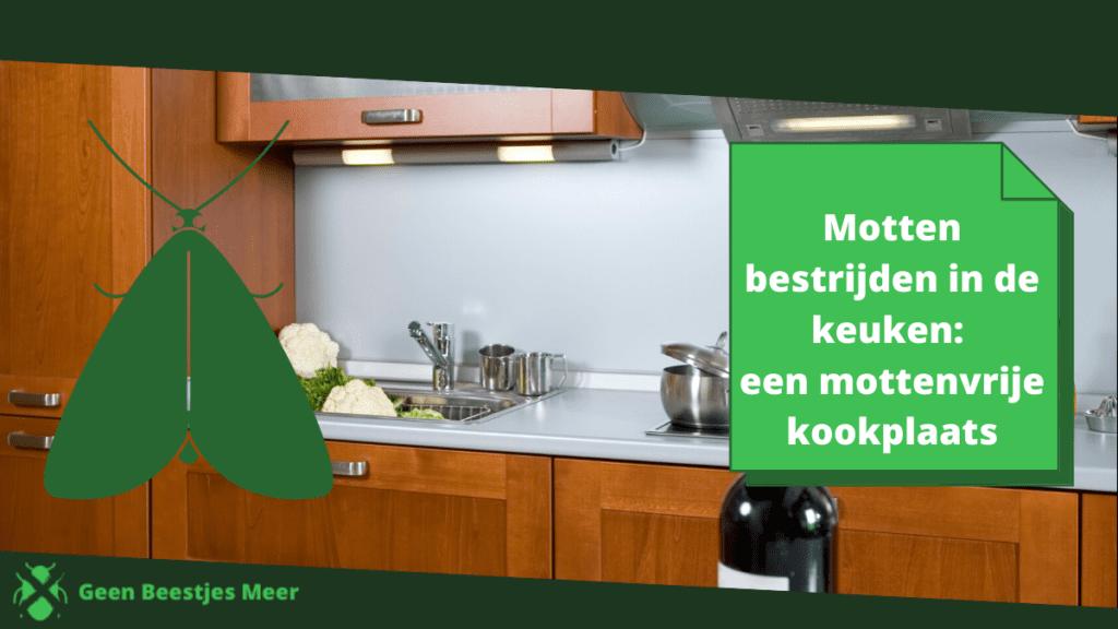 Motten bestrijden in de keuken: een mottenvrije kookplaats