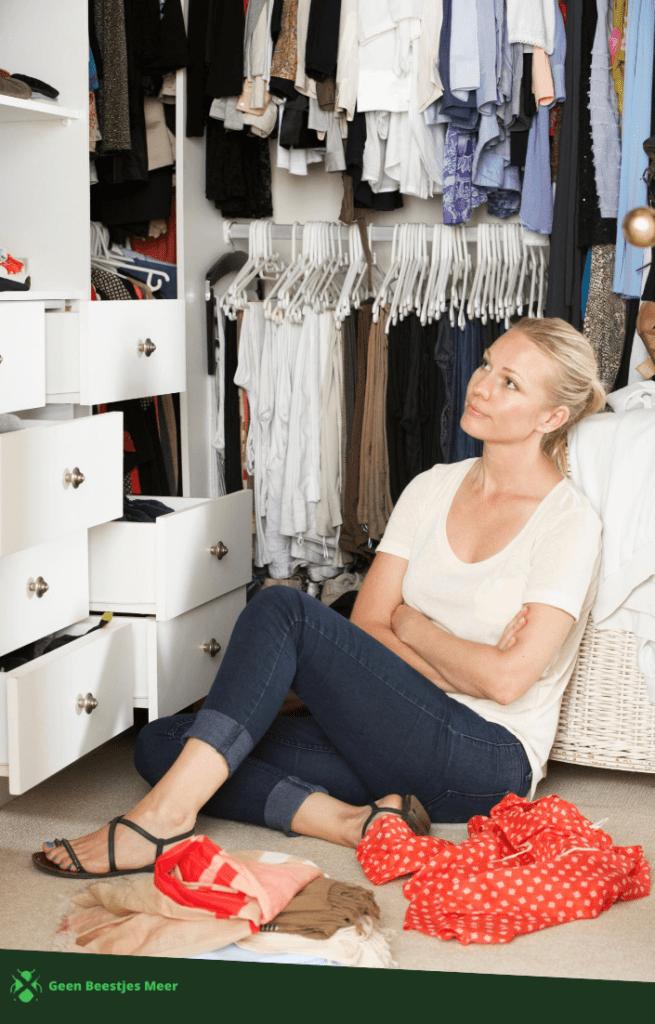 7 stappen naar mottenvrije kleding
