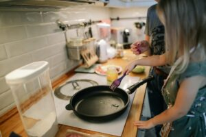 Koken geen motten