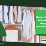Motten bestrijden in de kledingkast: 7 stappen naar mottenvrije kleding