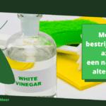 Motten bestrijden met azijn: een natuurlijk alternatief