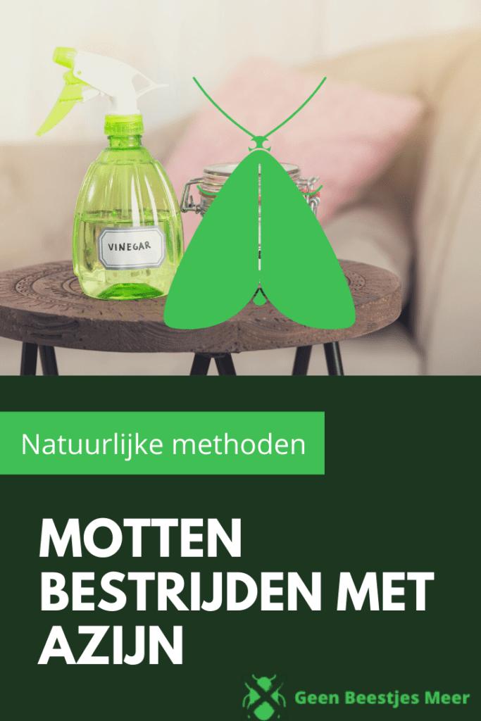 Pinterest Motten bestrijden met azijn