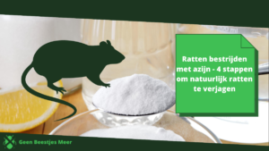 ratten bestrijden met azijn