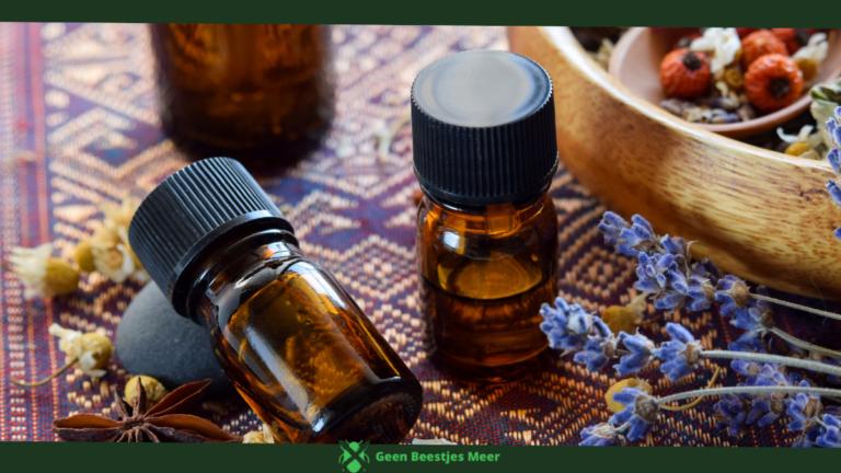 Gebruik lekkere geurtjes in de vorm van essentiele olieen