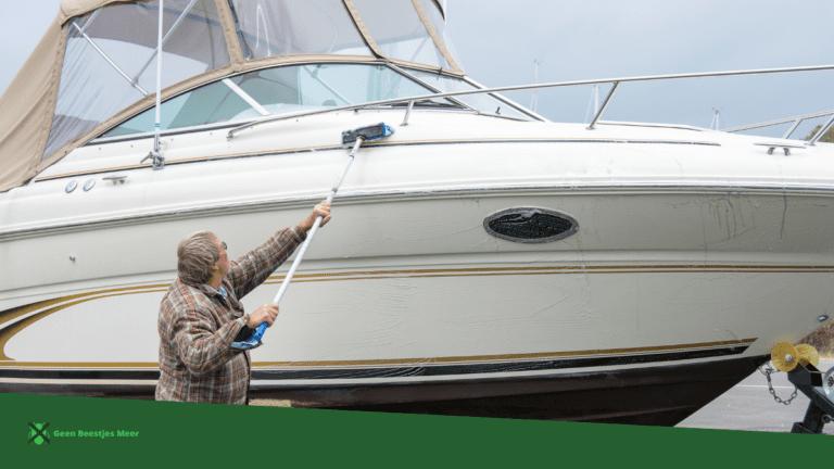 Hou je boot opgeruimd en schoon.
