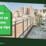 Spinnen bestrijden op het balkon: 14 handige tips